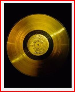 gold disc on voyager 1